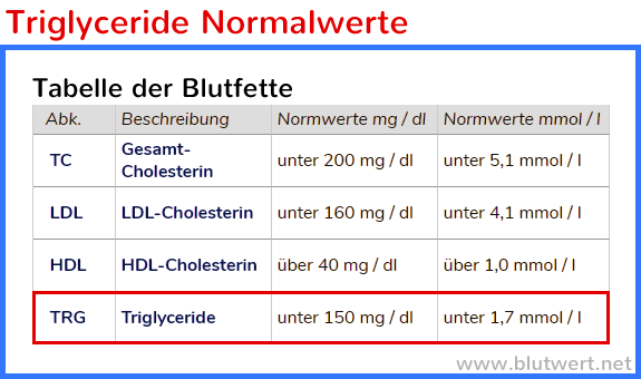 Diät gegen Bluthochdruck und hohe Triglyceride